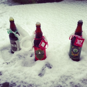Surprise Snowstorm or Hipster Beer Cooler? You decide.